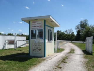 AG Drive-In Ticket Booth