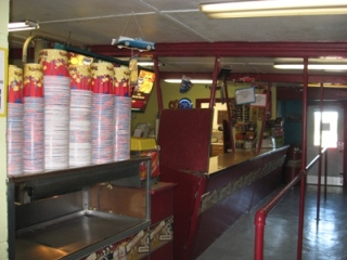 AG Drive-In Inside Concession Stand