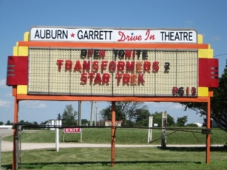AG Drive-In Marquee